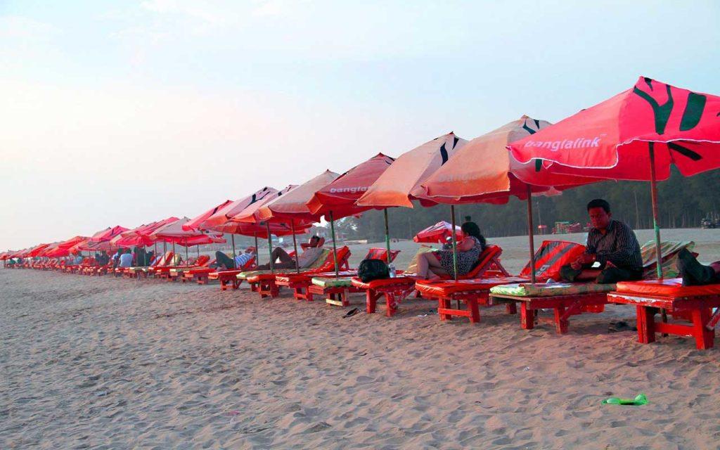 Cox's Bazar sea beach