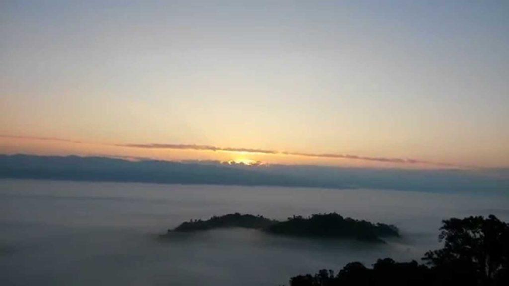 Sunrise in the hills sajek velly