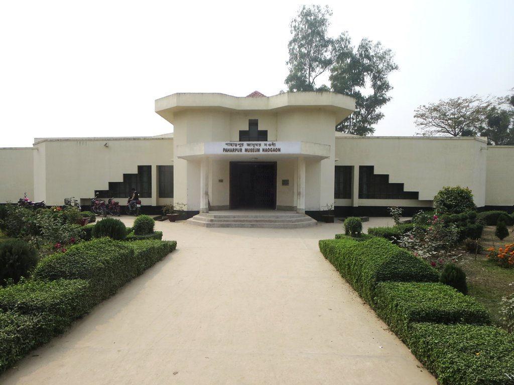 Visiting Paharpur Museum: