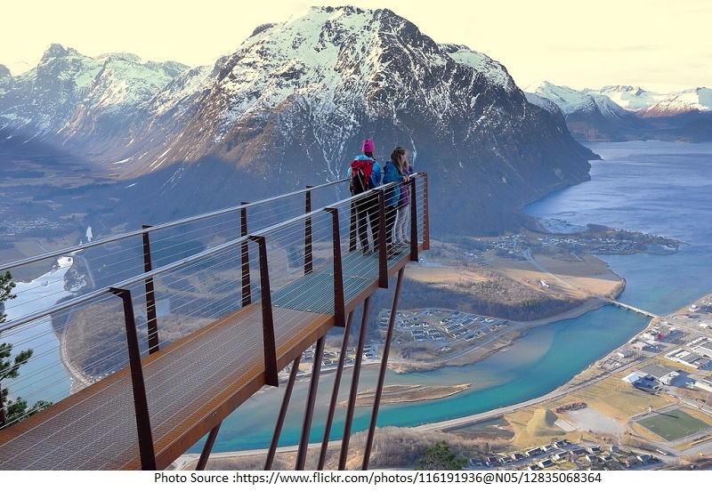 tourist attractions in Andalsnes