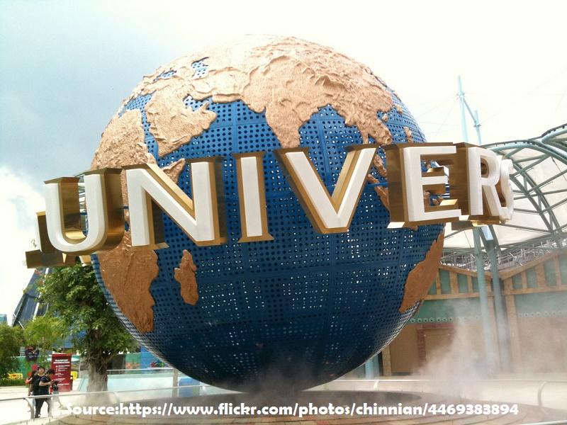 At Universal Studios, Singapore