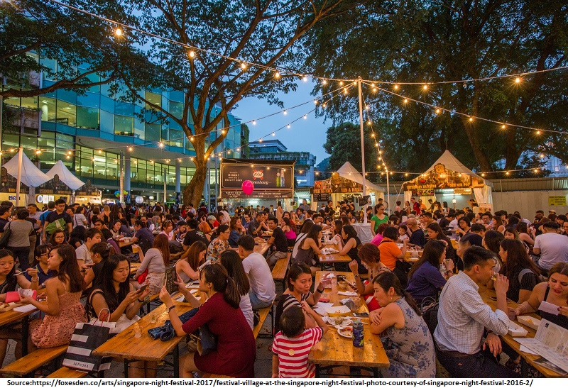 Eat your way around a hawker centre ,SIngapore