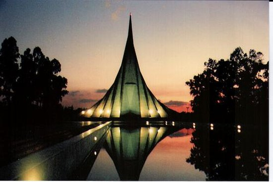Tourist attractions in Dhaka National Memorial at Savar: