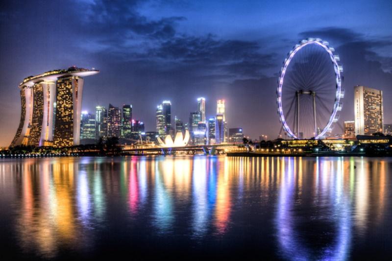 Walk around Marina Bay, Singapore