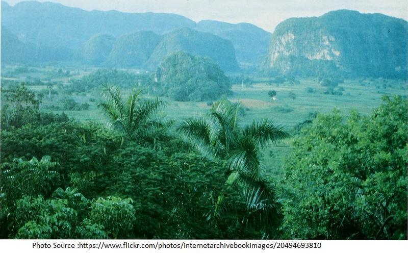 Caguanes Nationa Park,cuba