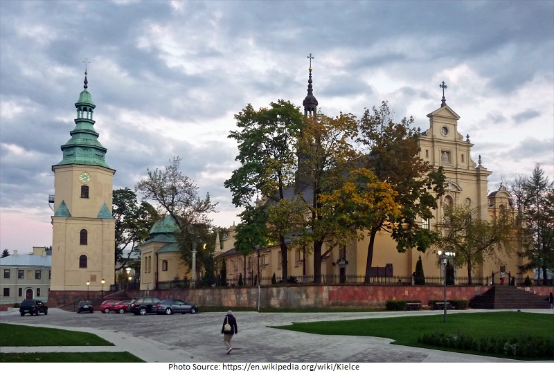 tourist attractions in poland Kielce