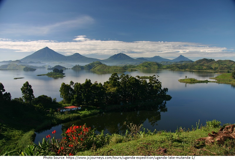 Tourist Attractions in Uganda, Lake Mutanda
