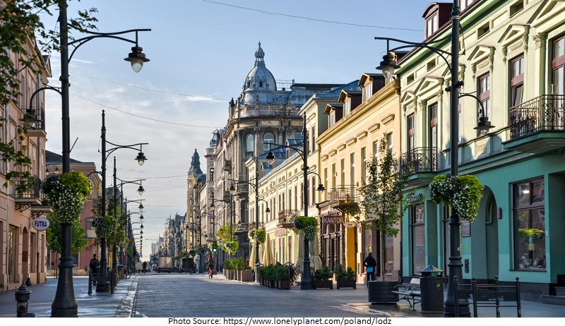 tourist attractions in poland Lodz
