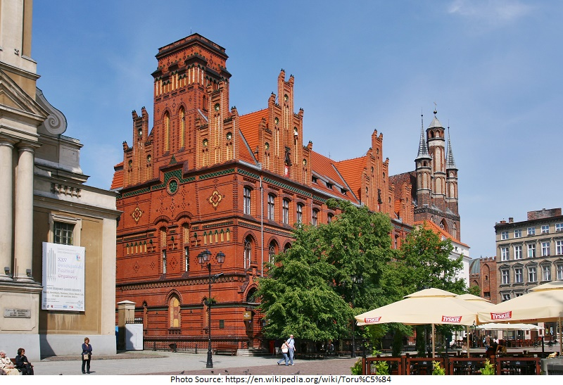 tourist attractions in poland Torun