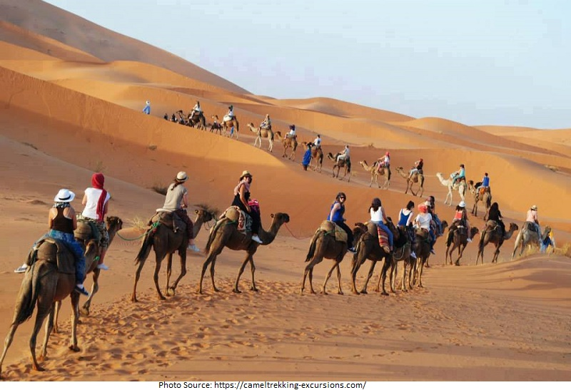 Tourist Attractions in Morocco 4x4 Camel Tours
