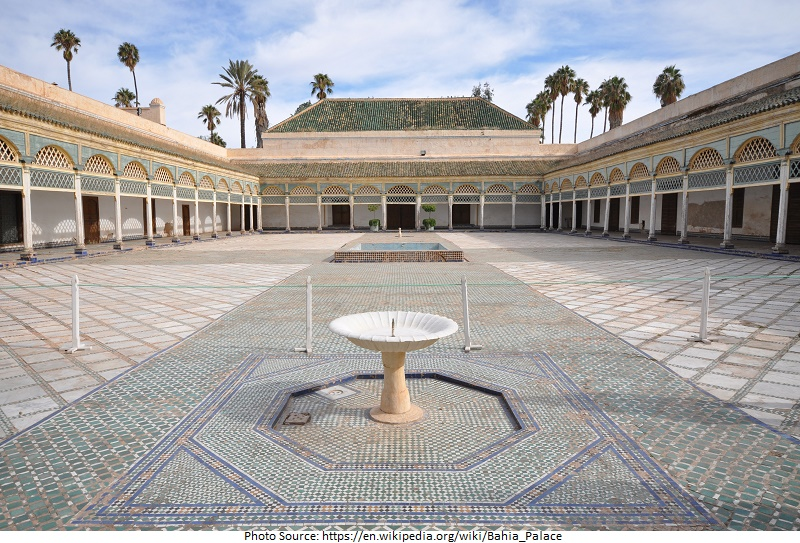 Tourist Attractions in Bahia Palace