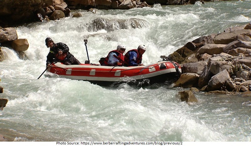 Tourist Attractions in Berber Rafting Adventures