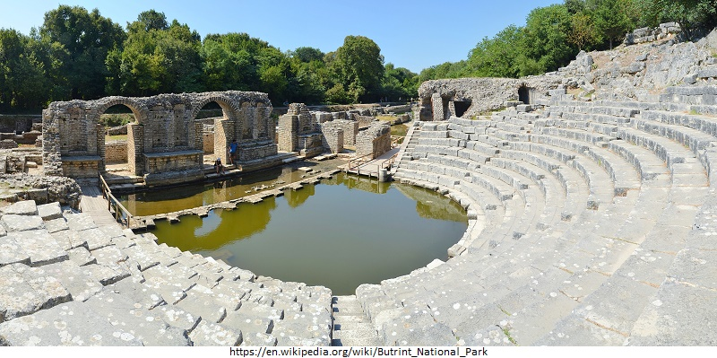 tourist attractions in Butrint