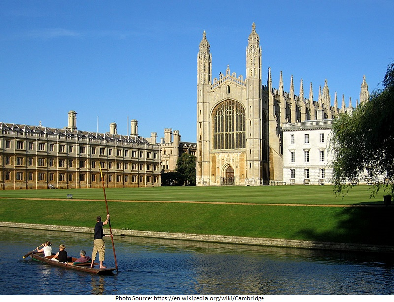 Tourist Attractions in Cambridge