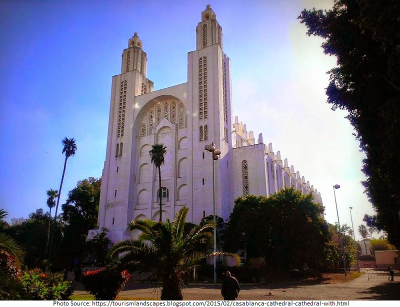 Tourist Attractions in  Casablanca Cathedral