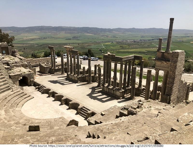 tourist attractions in Tunisia
