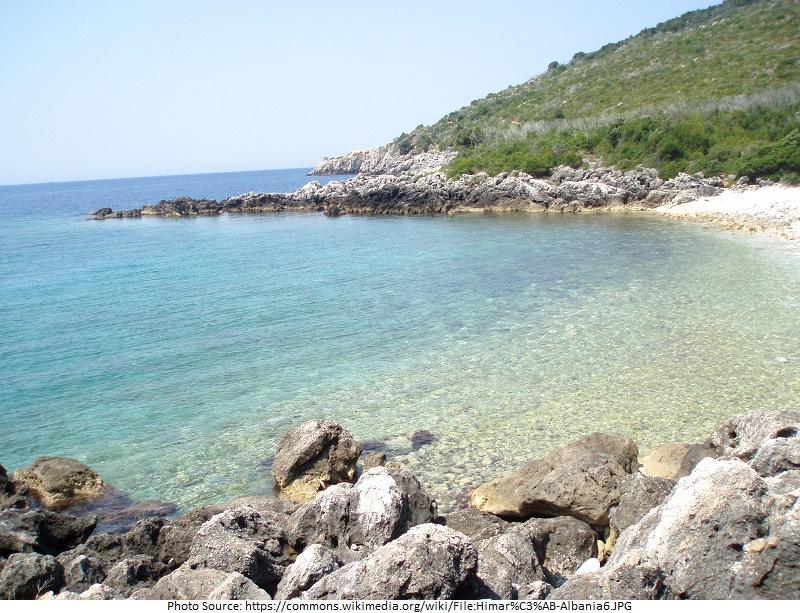 tourist attractions in Himare