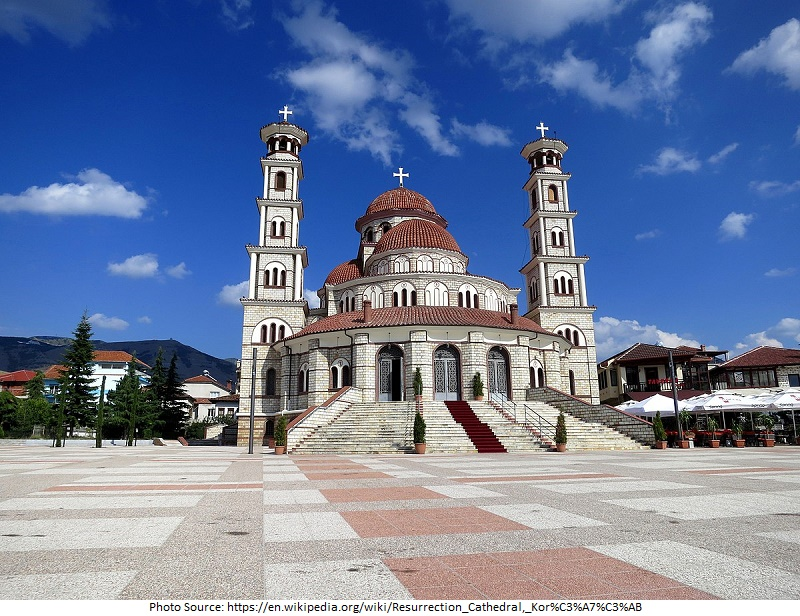 tourist attractions in Korce