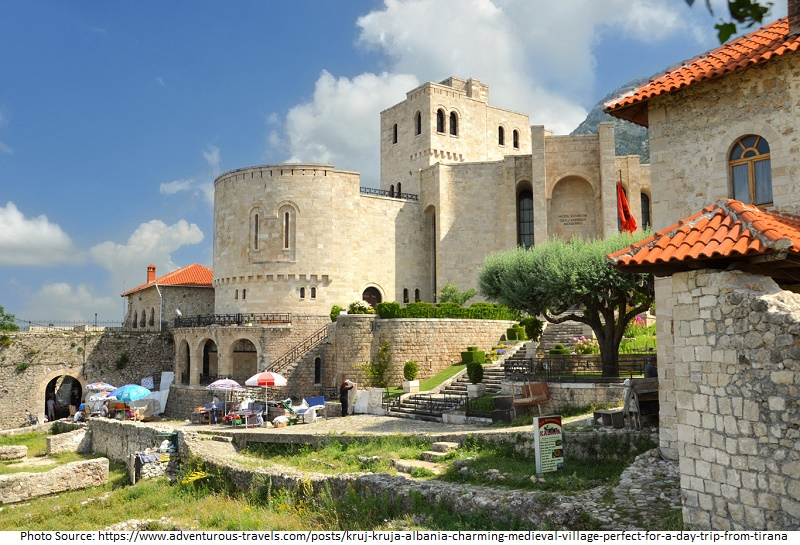 tourist attractions in Kruja