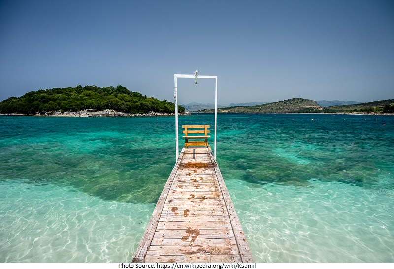 tourist attractions in Ksamil