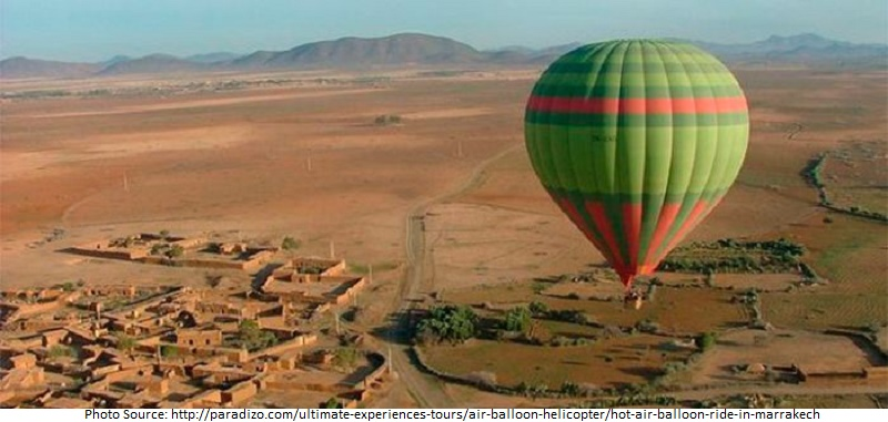 Tourist Attractions in Marrakech by Air