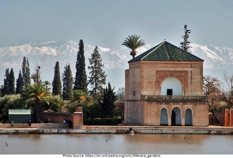 Tourist Attractions in Menara Gardens