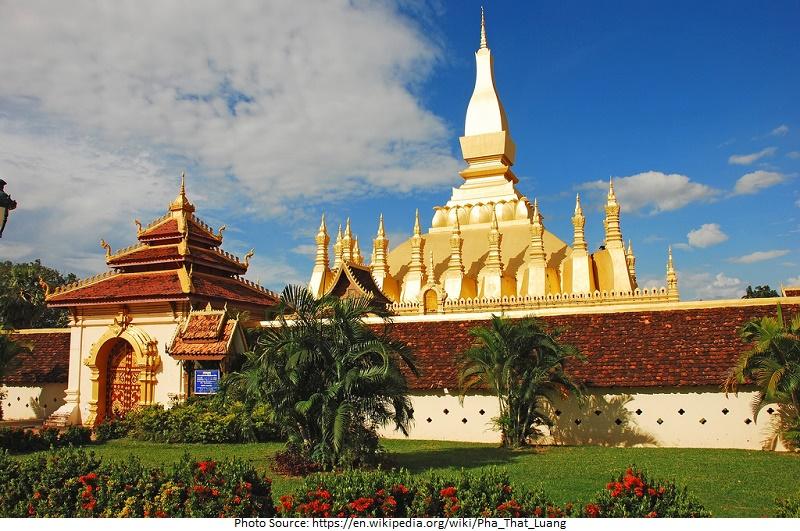 beautiful Pha That Luang