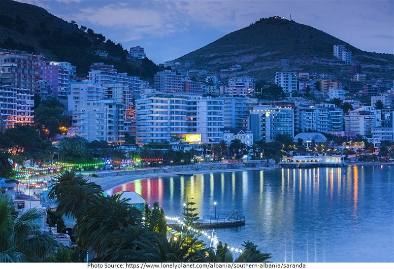 tourist attractions in Sarande