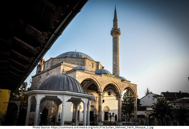Tourist Attractions in Kosovo, Sultan Mehmet Fatih Mosque