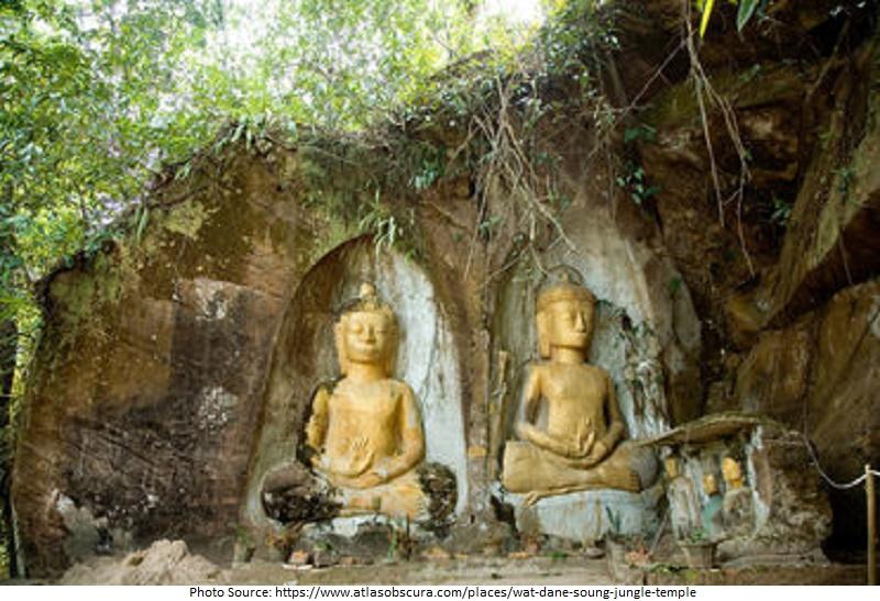Wat Dane Soung Jungle Temple