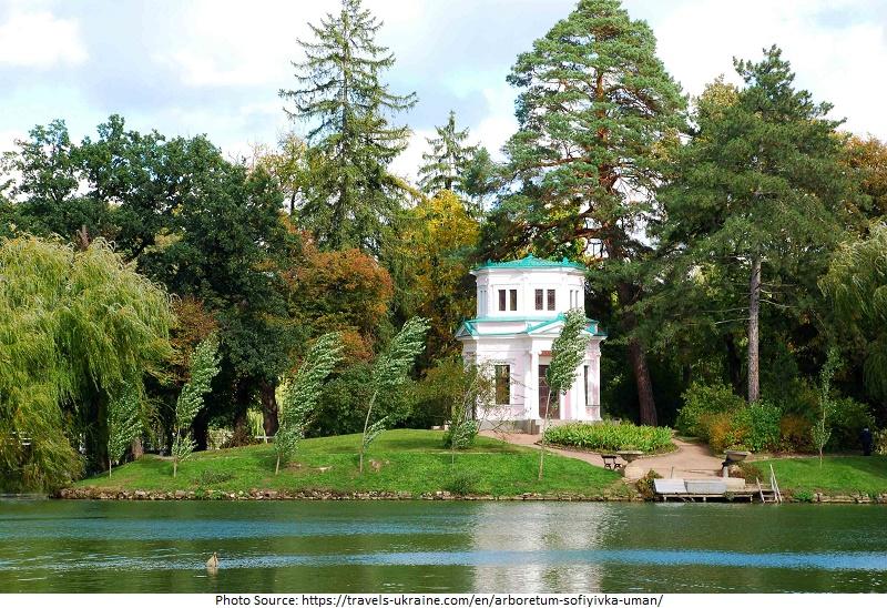 Arboretum Sofiyivka  Attractions