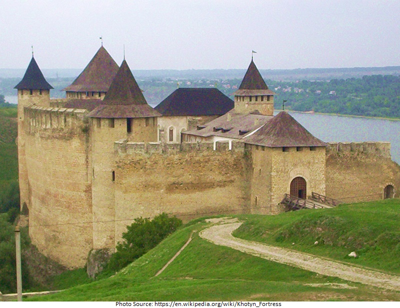 Khotyn Fortress attractions