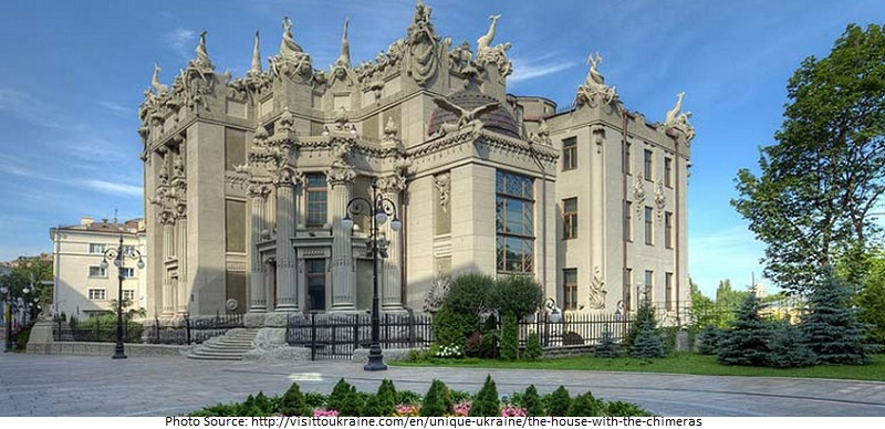 The House with Chimaeras