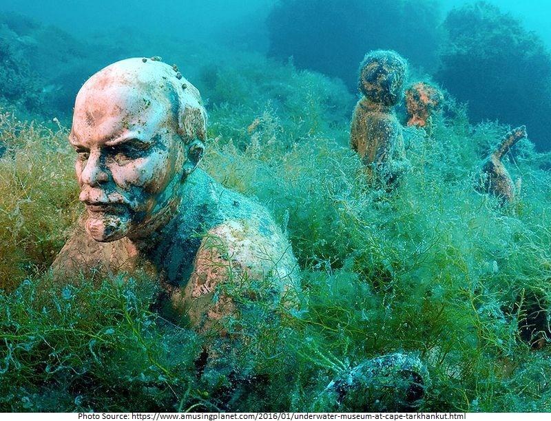Underwater Museum at Sape Tarkhankut