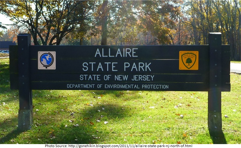 tourist attractions in Allaire State Park