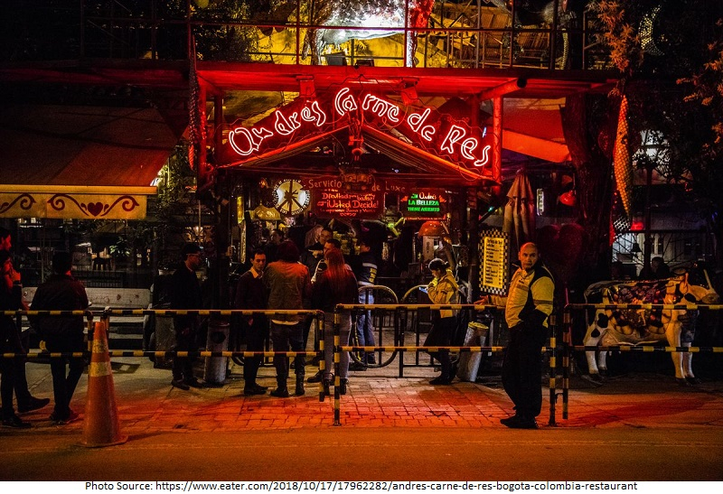 tourist attractions in Andres Carne de Res