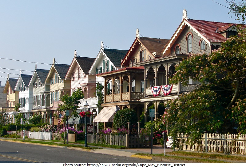 tourist attractions in Cape May Historic District