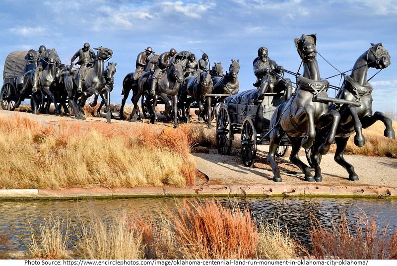 tourist attractions in Centennial Land Run Monument