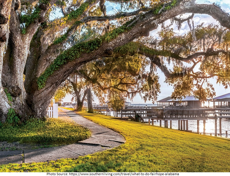 tourist attractions in Fairhope