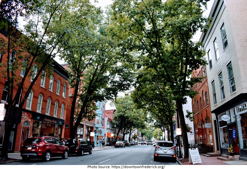 tourist attractions in Historic Downtown Frederick