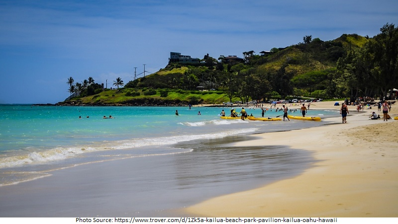 tourist attractions in Kailua Beach Park
