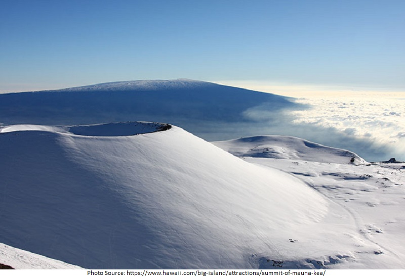 tourist attractions in Mauna Kea Summit