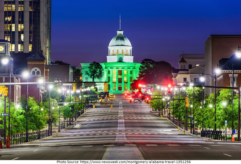 tourist attractions in montgomery