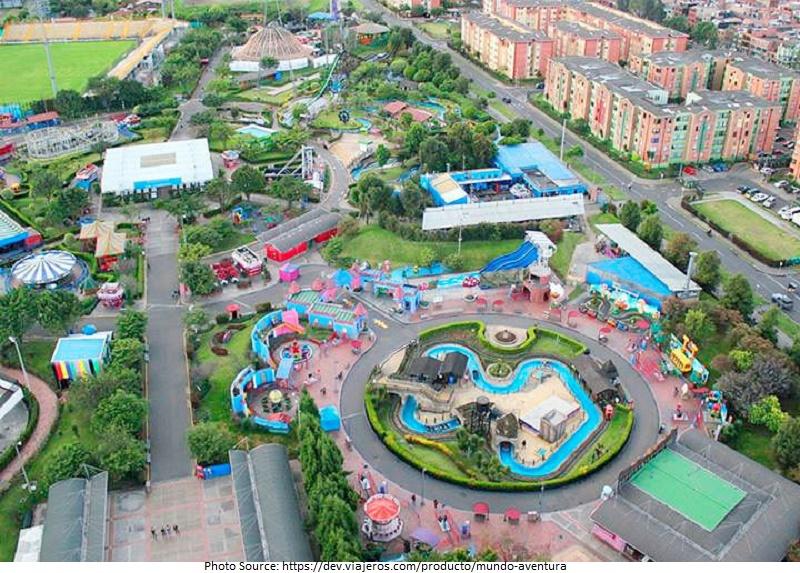 tourist attractions in Parque Mundo Aventura