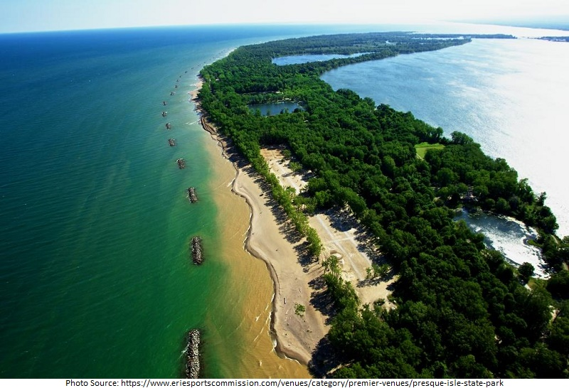 tourist attractions in Presque Isle State Park
