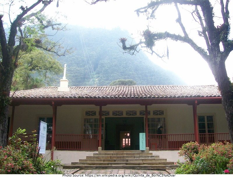 tourist attractions in Quinta de Bolivar