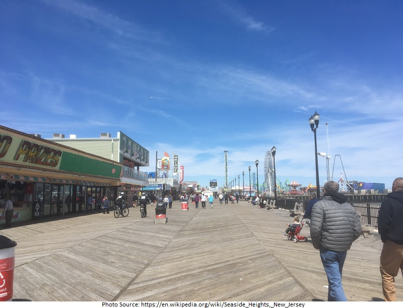 tourist attractions in Seaside Heights