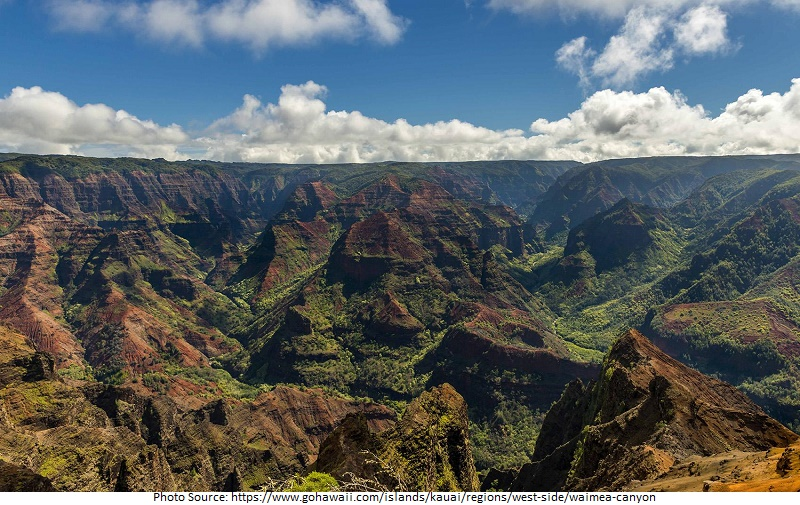 tourist attractions in Waimea Canyon State Park