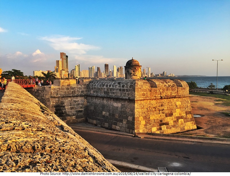 tourist attractions in Walled City of Cartagena