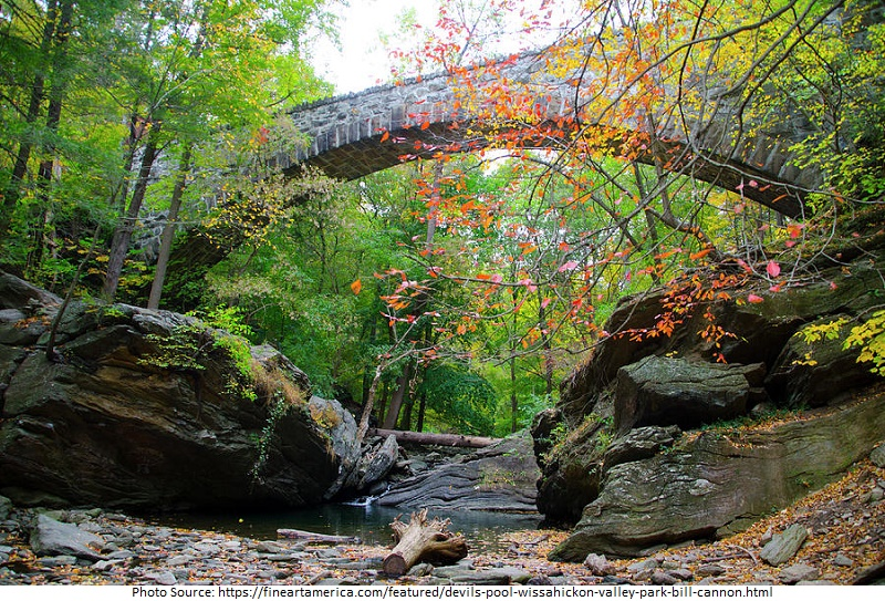 tourist attractions in Wissahickon Valley Park